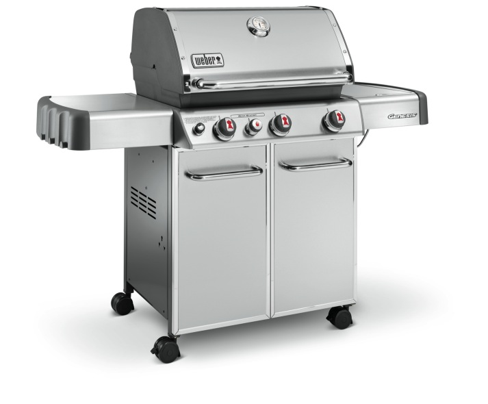 Weber Genesis S-330 GBS Stainless Steel BBQ - The Barbecue ...