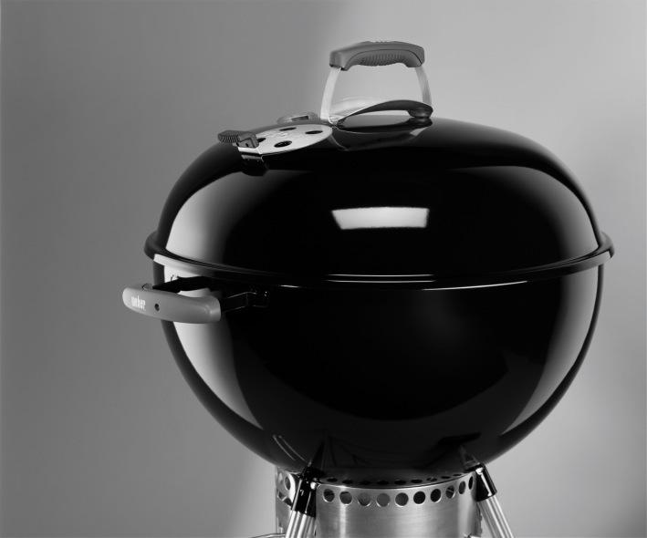 weber original kettle premium 57 cm black charcoal barbecue spain. Black Bedroom Furniture Sets. Home Design Ideas