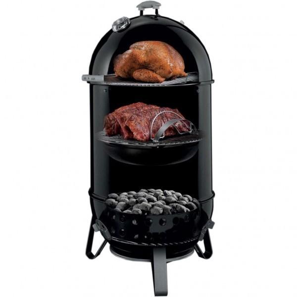 weber smokey mountain cooker 47 cm the barbecue store spain