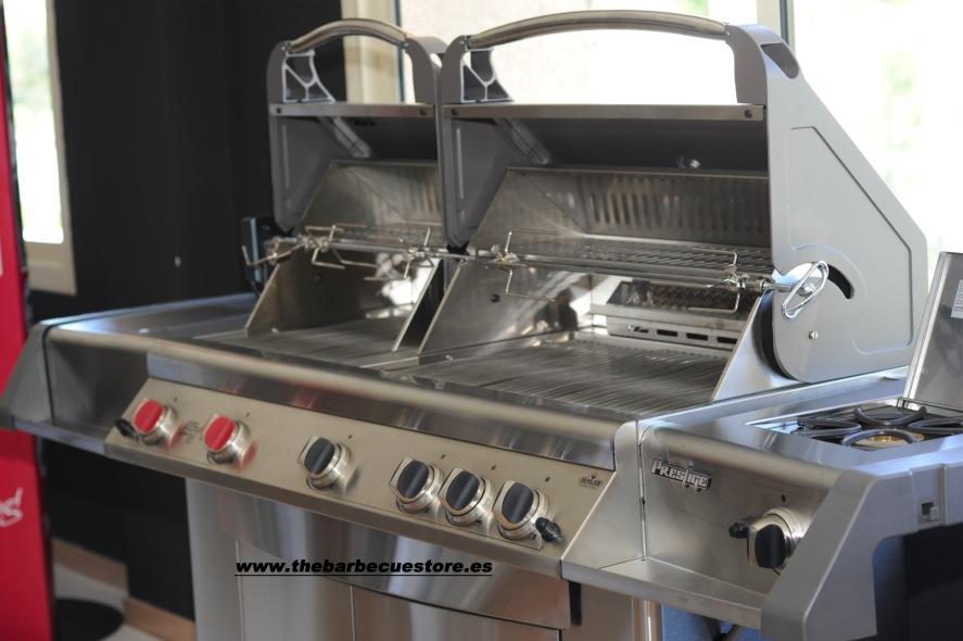 Napoleon Prestige II Twin Head PT750 gas BBQ - The ...