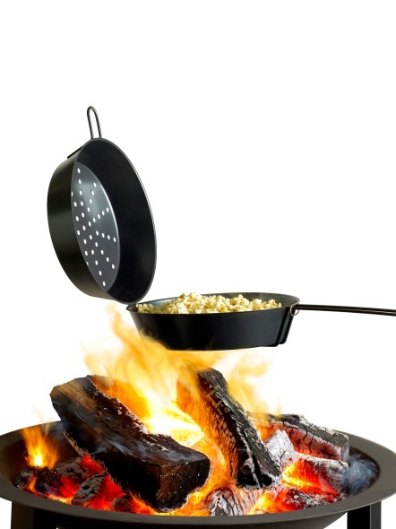 Popcorn Pan On Open Fire The Barbecue Store Spain