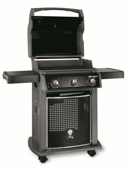weber spirit classic e 310 black the barbecue store spain. Black Bedroom Furniture Sets. Home Design Ideas