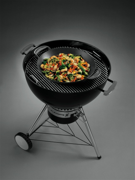 Weber Gourmet Bbq System Wok The Barbecue Store Spain