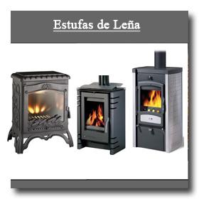 Coleccion invierno estufas chimeneas for Estufas de lena y carbon