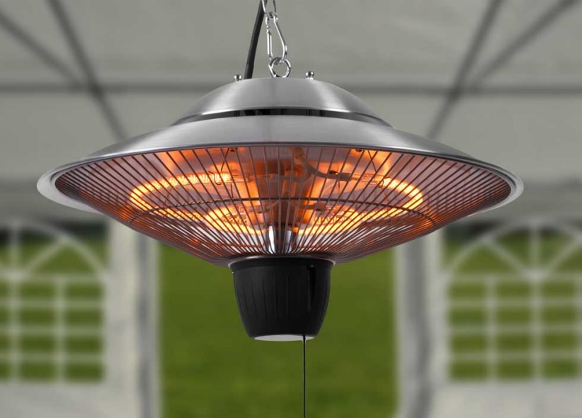 Big Infrared Hanging Patio Heater The Barbecue Store