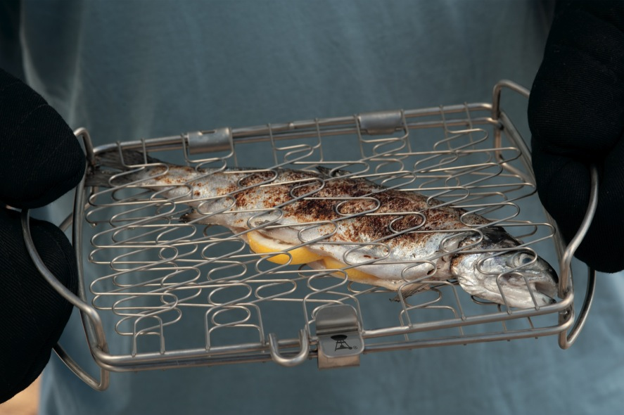 Weber Original Small Fish Basket The Barbecue Store Spain