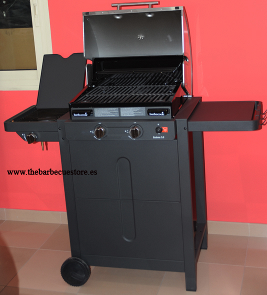 barbecook brahma 3 0 kleinster mobiler gasgrill. Black Bedroom Furniture Sets. Home Design Ideas