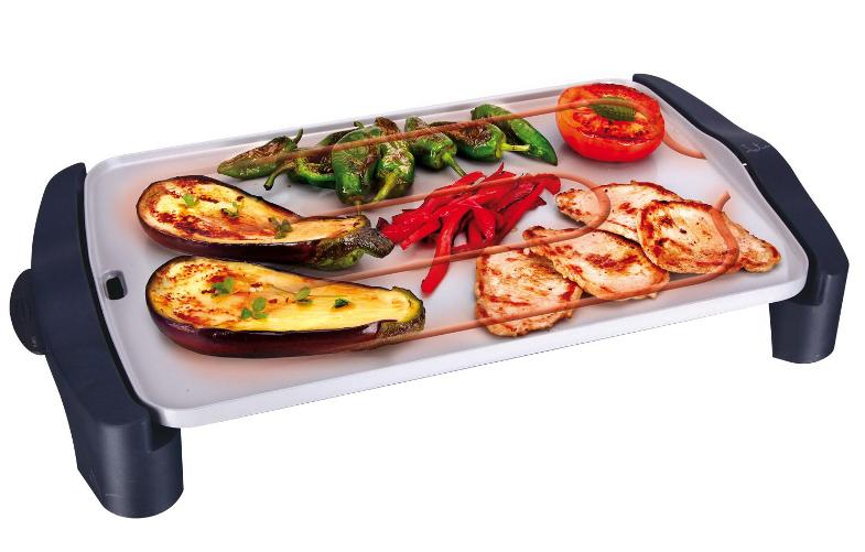 Plancha asar jata gr556 eco magic the barbecue store for Planchas de cocina electricas