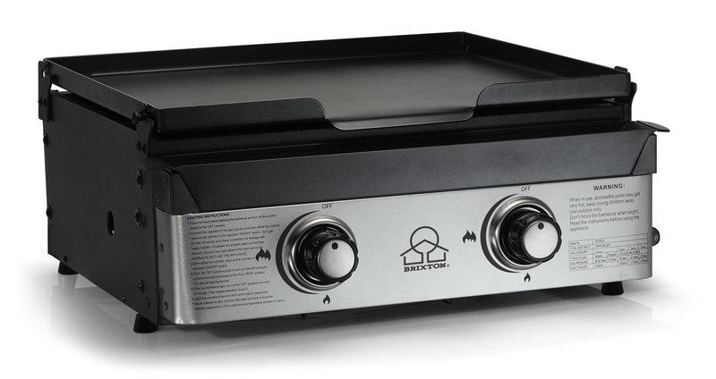 Plancha gas 2 quemadores profesional barbacoas compre - Plancha para cocina a gas ...