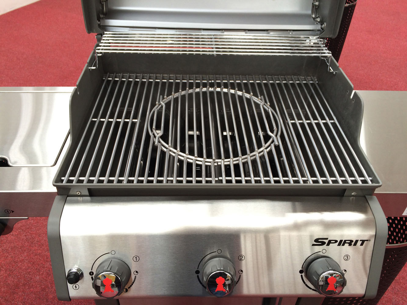 Weber Spirit Premium S-320 GBS gas BBQ - The Barbecue Store