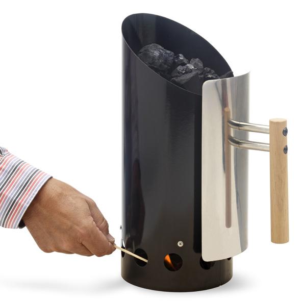 Encendedor de carb n para barbacoas the barbecue store - Barbacoas de carbon ...