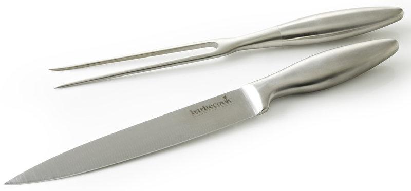 Cuchillo y tenedor trinchar inox barbacoas the barbecue for Plato tenedor y cuchillo