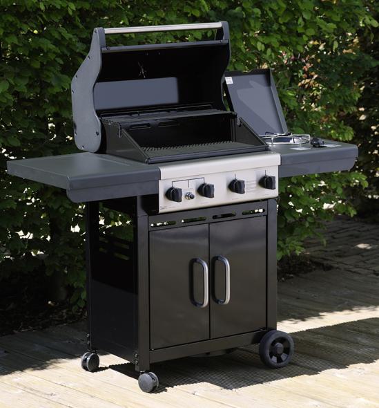 grandhall xenon 223 gas bbq the barbecue store spain. Black Bedroom Furniture Sets. Home Design Ideas