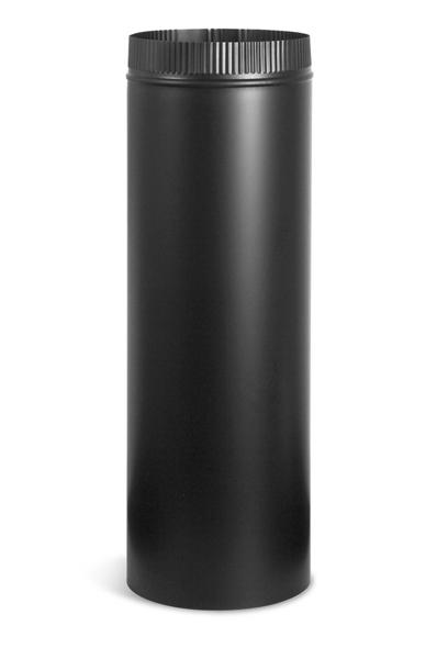 Tubo negro 120 mm para chimenea the barbecue store - Tubos extraccion de humos ...