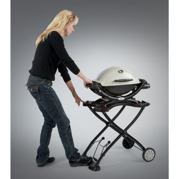 weber q quick folding cart the barbecue store spain. Black Bedroom Furniture Sets. Home Design Ideas
