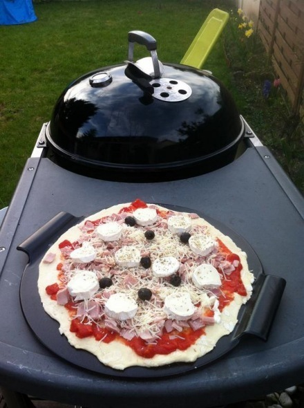 Ceramic Stones For Bbq : Ceramic pizza stone weber style the barbecue store spain