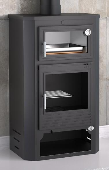 Estufa de le a con horno modelo m 104 la mejor tienda de - Estufa lena con horno ...