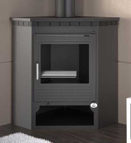 Estufa de le a rinconera modelo m 105 estufas de le a al Precio de estufas a lena