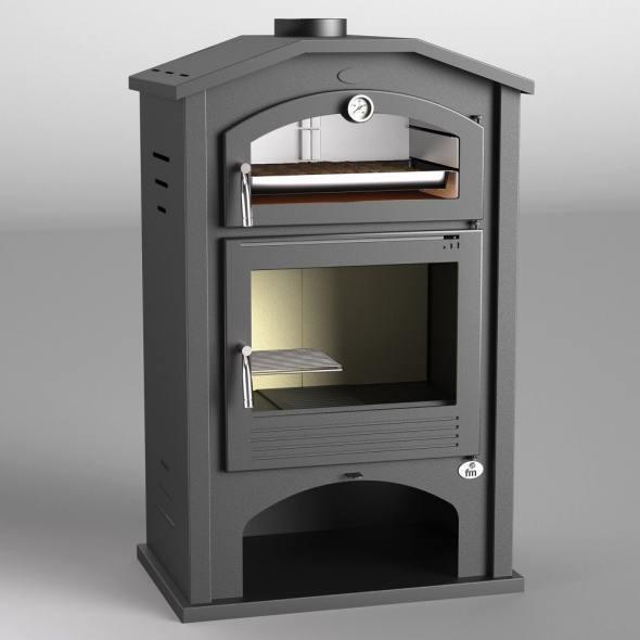 Estufa de le a con horno modelo m 106 la mejor tienda de - Modelos de estufas de lena ...