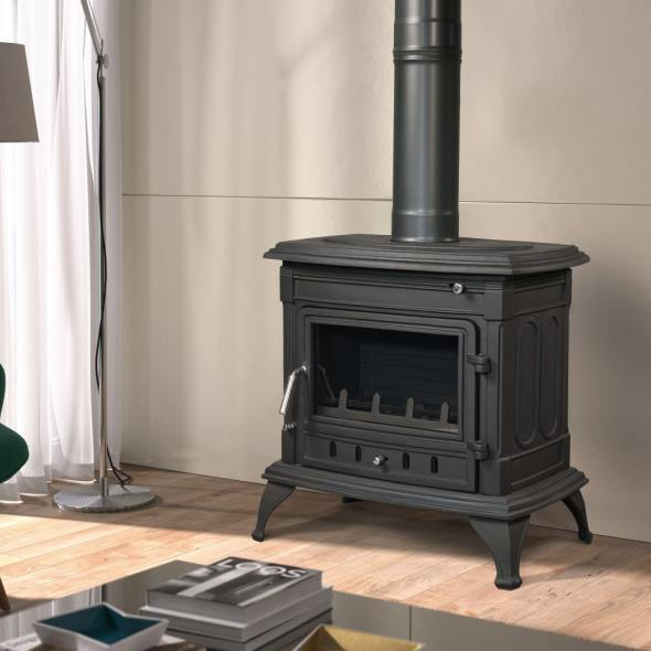 m 301 wood burning stove the barbecue store spain. Black Bedroom Furniture Sets. Home Design Ideas