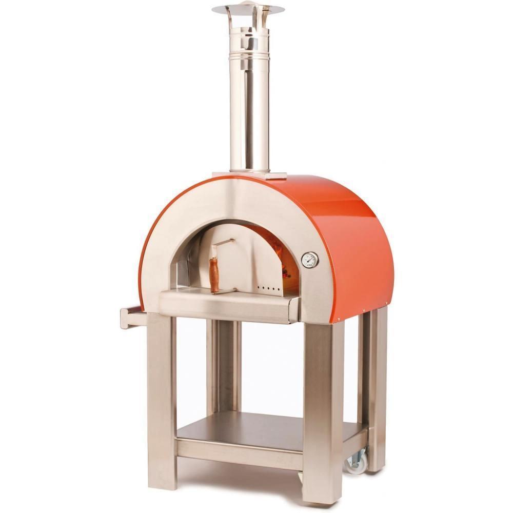 Horno de le a 5 minuti rojo hornos de le a al mejor precio - Como hacer pizza en horno de lena ...