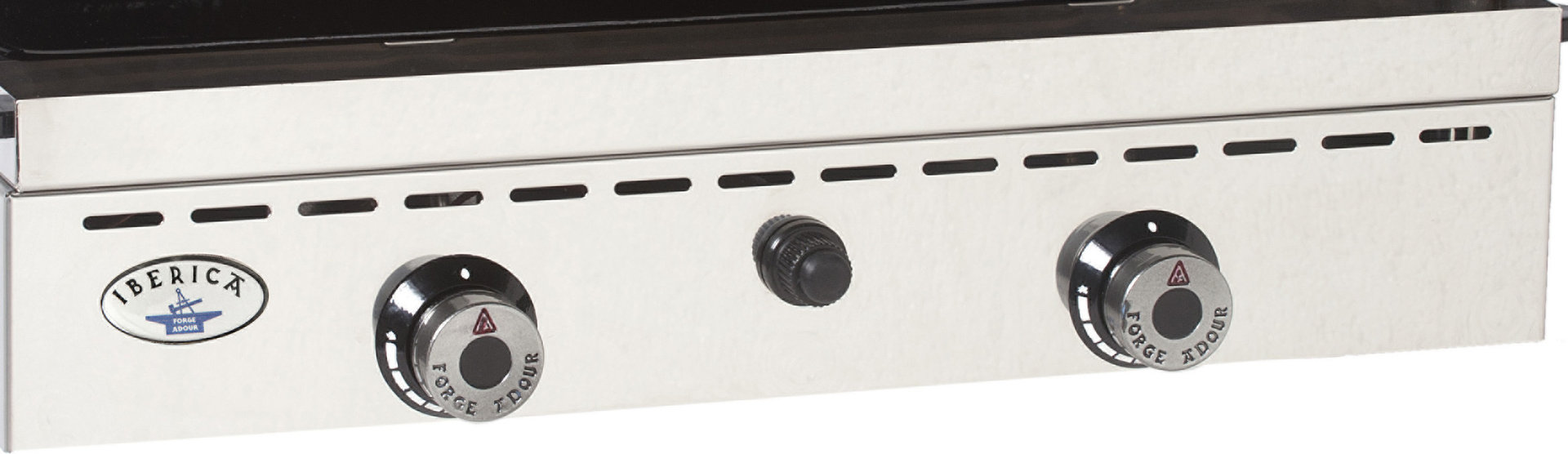 plancha de gas ib rica 600 inox planchas de gas de forge adour. Black Bedroom Furniture Sets. Home Design Ideas