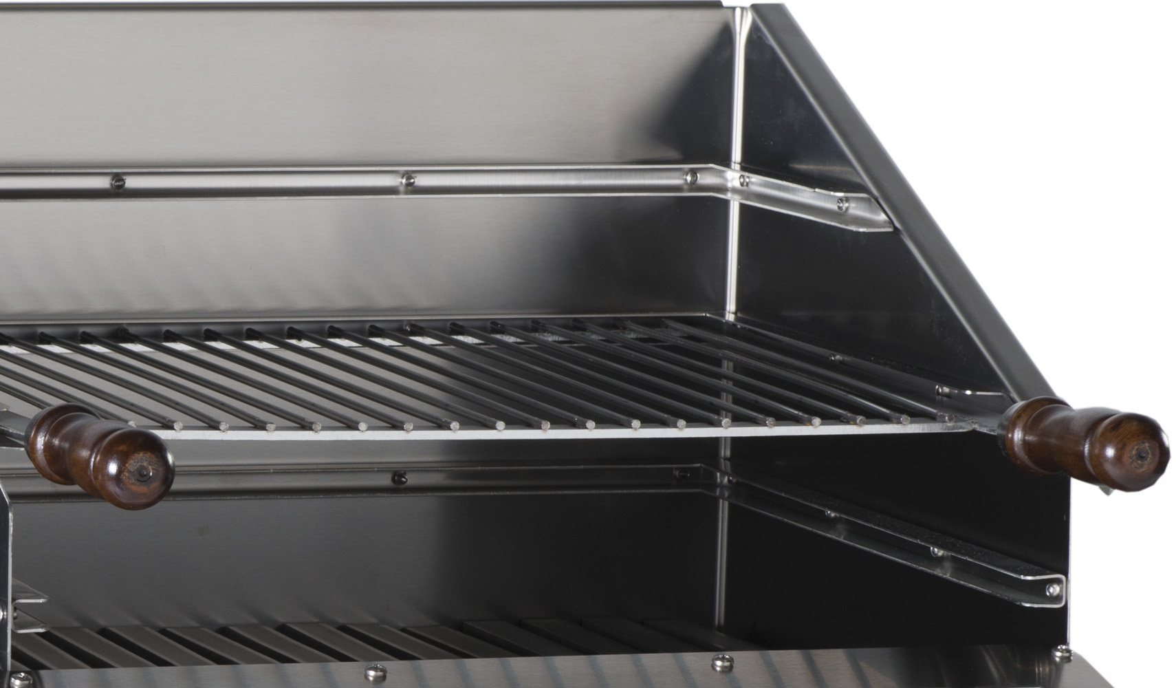 duo 500 inox gas plancha and barbecue the barbecue store spain. Black Bedroom Furniture Sets. Home Design Ideas