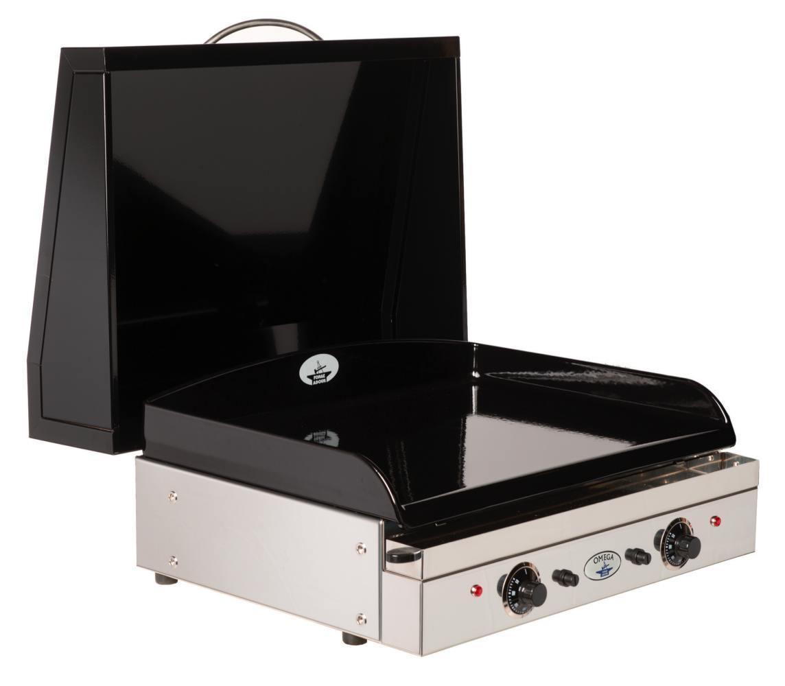 Tapa de acero esmaltado para plancha de gas the barbecue - Planchas para cocinar a gas ...