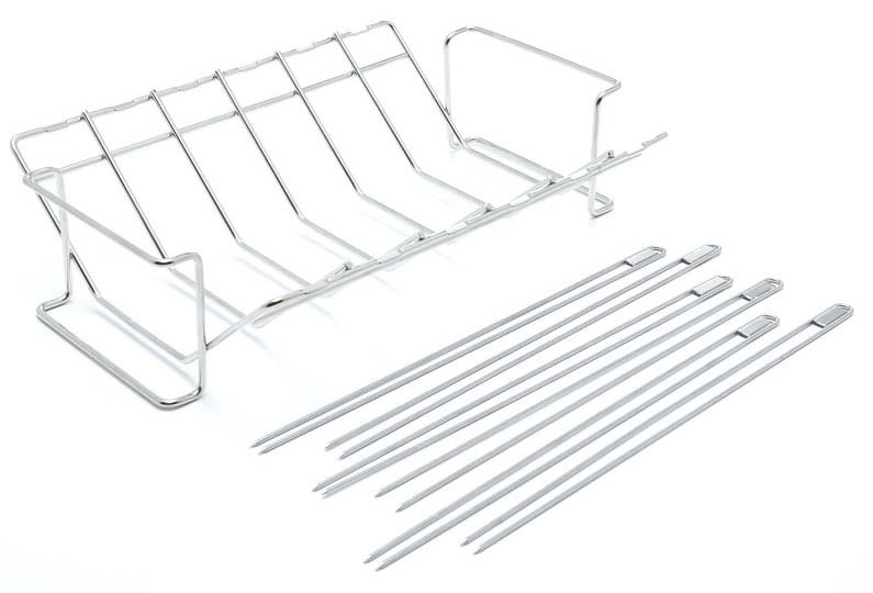 Broil King 64233 V Rack and Skewer Kit Stainless Steel