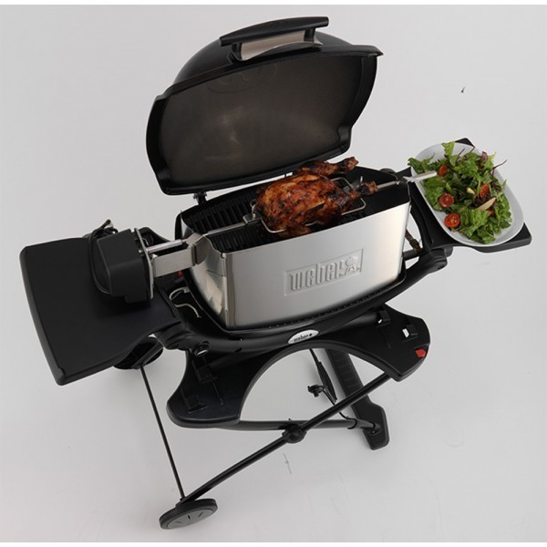weber q 200 2000 2200 and 2400 rotisserie kit the bbq store. Black Bedroom Furniture Sets. Home Design Ideas