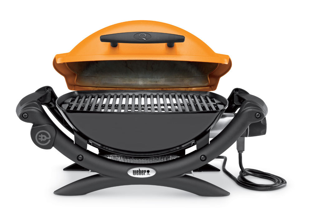 weber q 1400 orange bbq the barbecue store. Black Bedroom Furniture Sets. Home Design Ideas