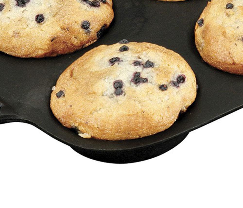 Molde peque o para muffin de hierro fundido la mejor calidad for Hierro fundido
