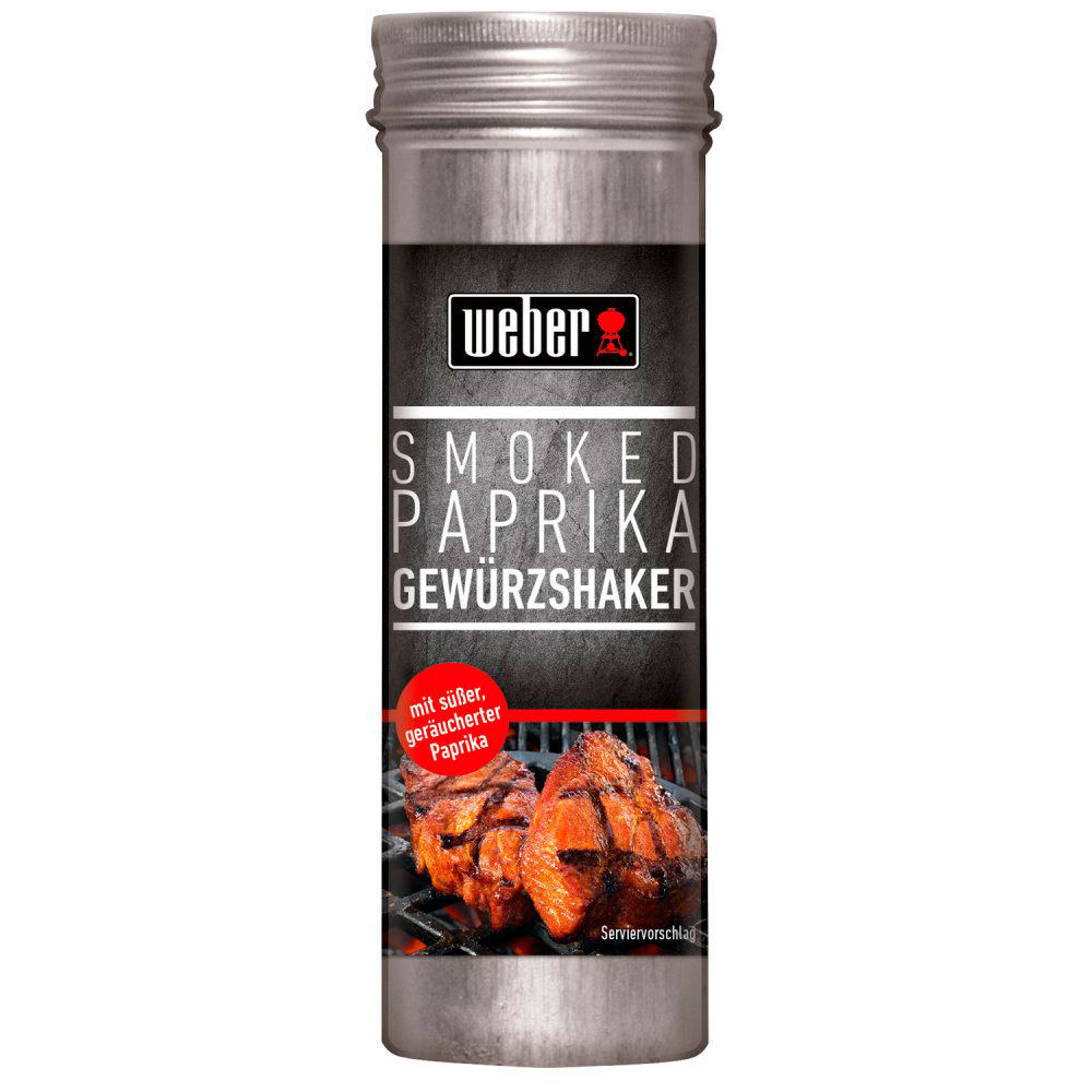 Weber Smoke Paprika Rub 75 Gr The Barbecue Store In Spain