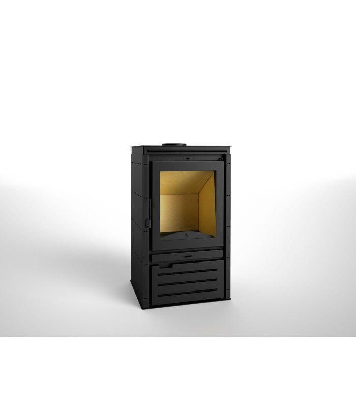 Estufa de le a con turbinas modelo m 202 v la mejor - Modelos de estufas de lena ...