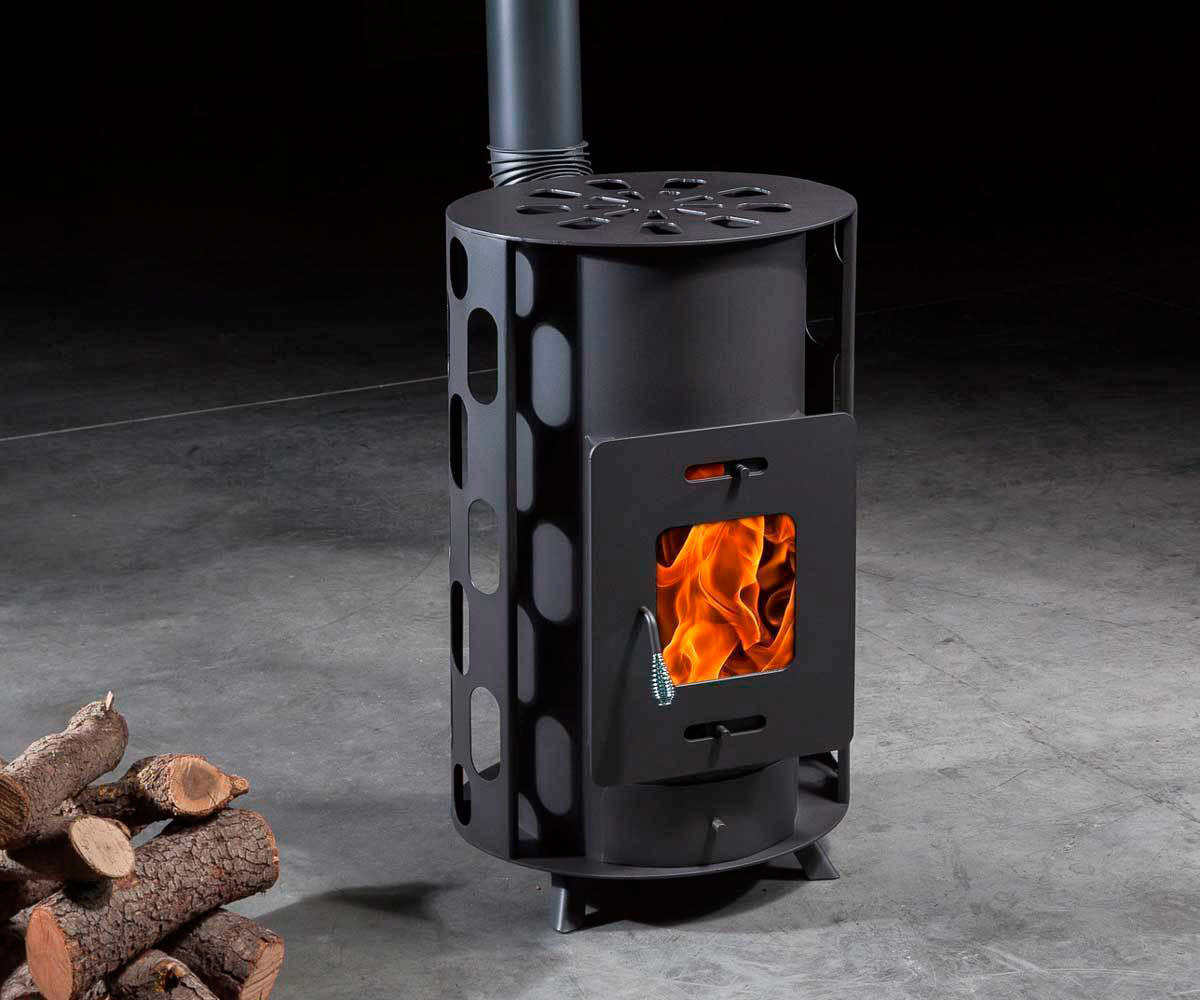 Vulcano Wood Burning Stove - The Barbecue Store Spain