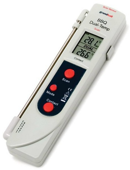 weber probe meat thermometer battery pdf