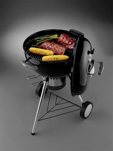 Weber Original Kettle Premium 47 Cm.Weber Charcoal Barbecue Original Kettle Premium 47 Cm Black