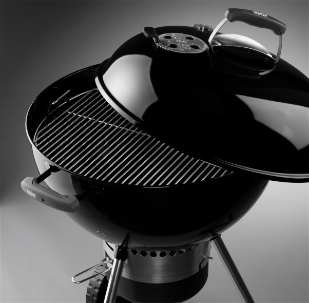 Weber original kettle premium 57 cm black charcoal barbecue spain - Weber kettle 57 ...