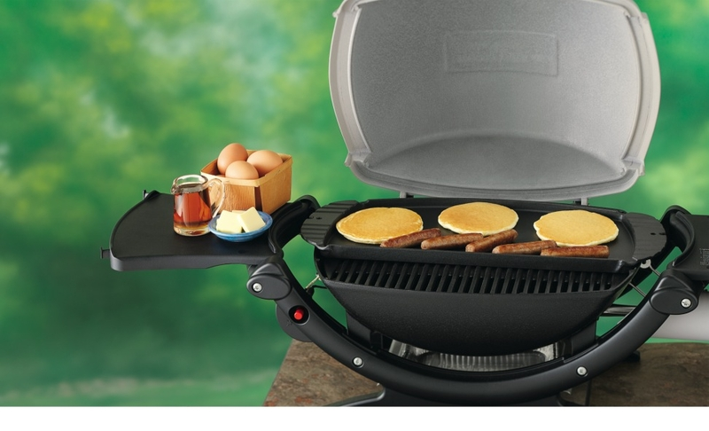 cast iron griddle for weber q 100 series bbq the barbecue store. Black Bedroom Furniture Sets. Home Design Ideas