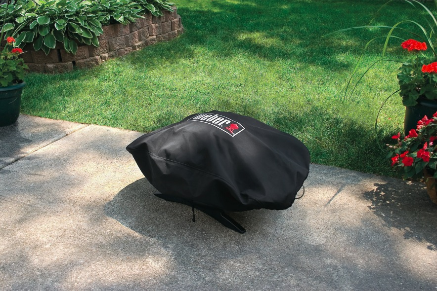 vinyl grill cover for weber q 100 u0026 series