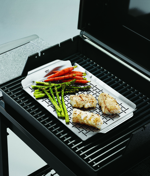 how to clean a stainless steel grill pan