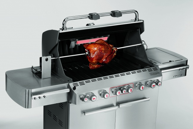 Weber Summit S-670 BBQ GBS Stainless Steel - The Barbecue ...