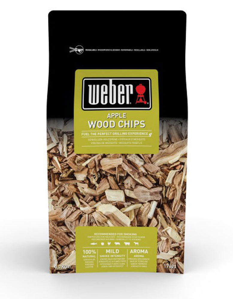 Weber apple wood chips the barbecue store spain