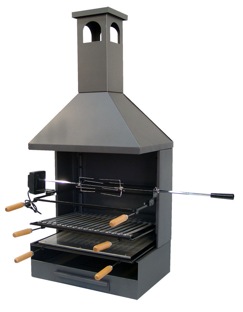 bbq drawer with chimney and rotisserie kit the barbecue store. Black Bedroom Furniture Sets. Home Design Ideas