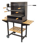 Barbecue with Rotisserie Kit