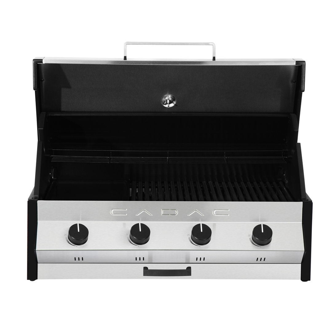 Alfresco Designs Meridian 4 Built In Gas Bbq The Barbecue Store Spain