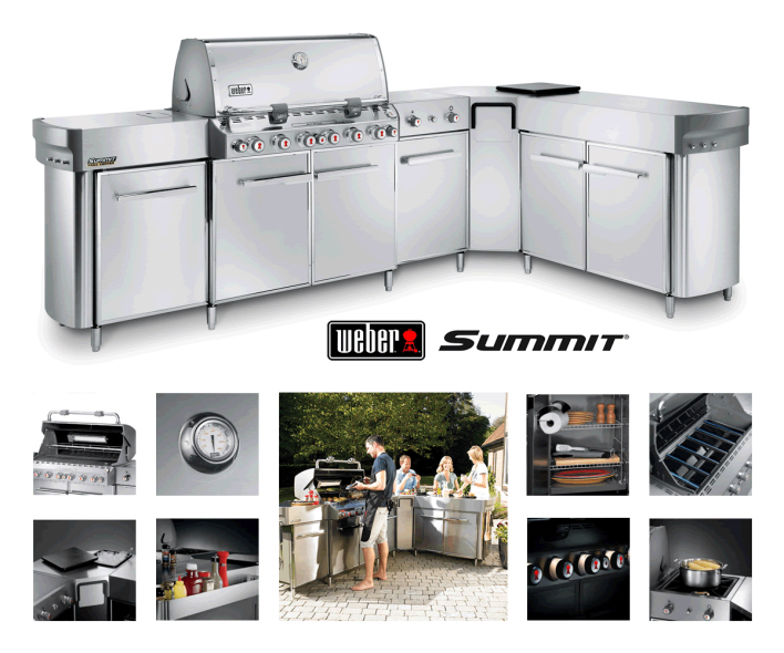 weber summit grill centre gbs the barbecue store spain. Black Bedroom Furniture Sets. Home Design Ideas