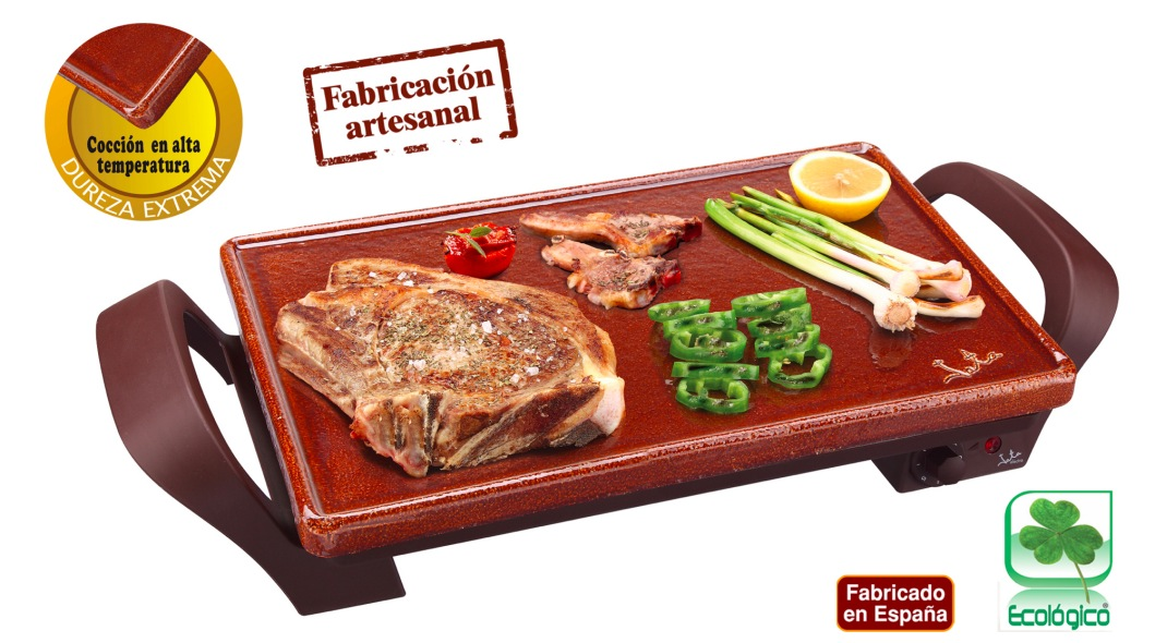 Plancha asar terracota jata gr5 the barbecue store for Plancha electrica para cocinar