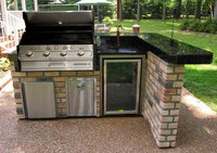 Built In gas Barbecues