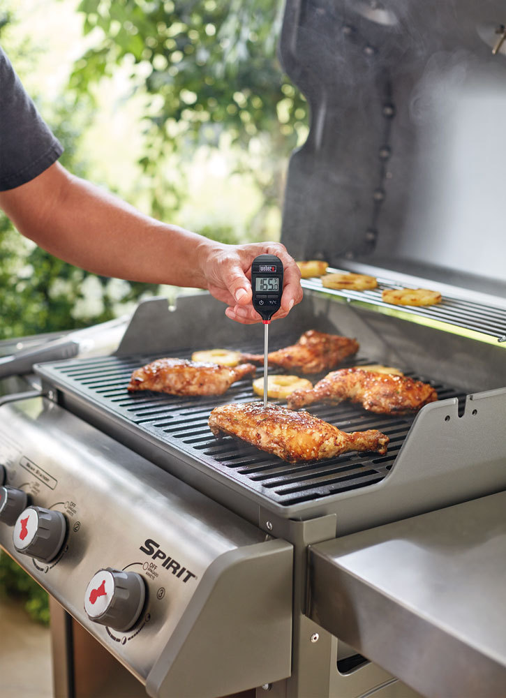 weber digital meat thermometer instructions